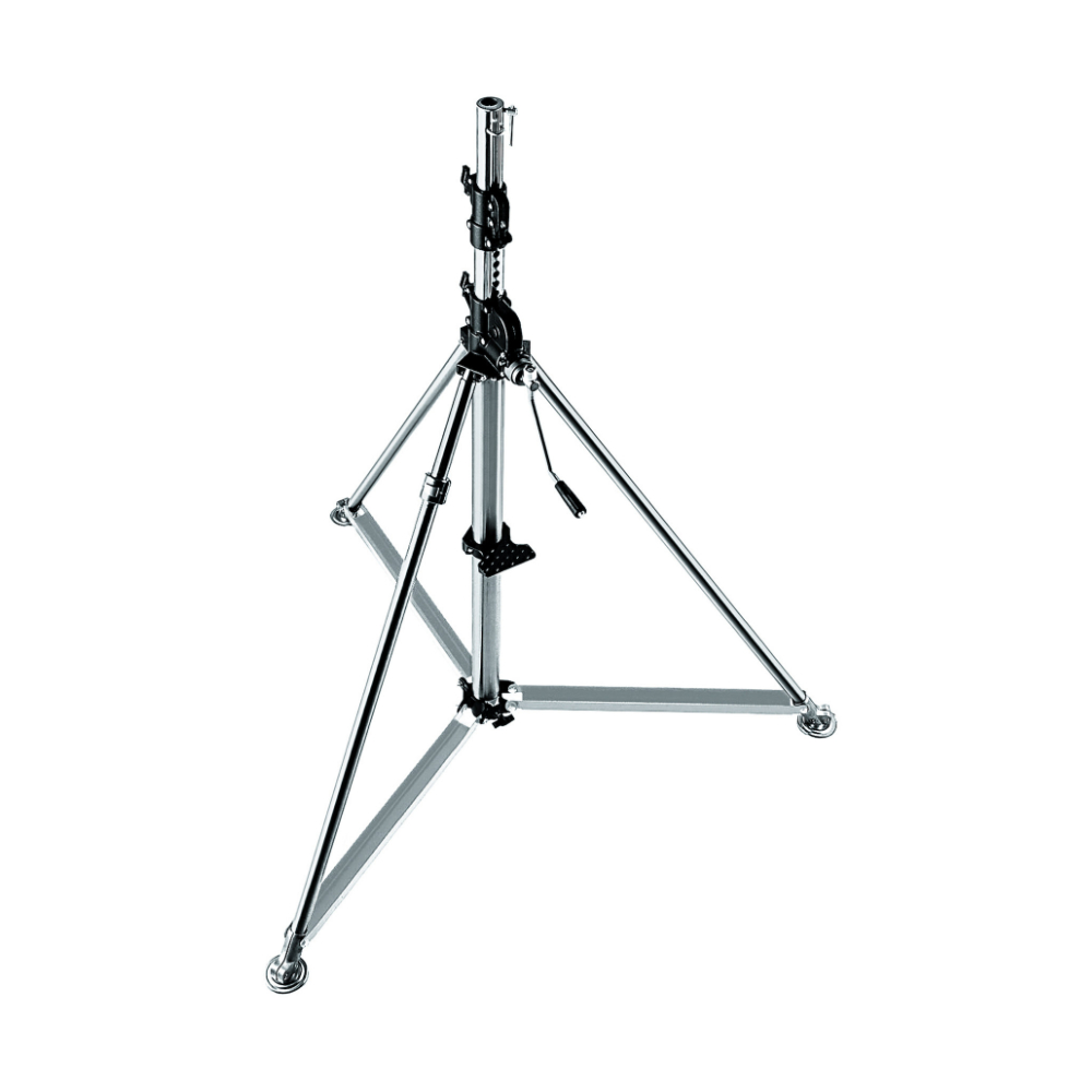 Manfrotto 387XU Super Wind-Up Stand – Silver
